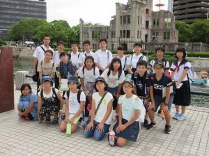 『広島平和学習の旅』の画像