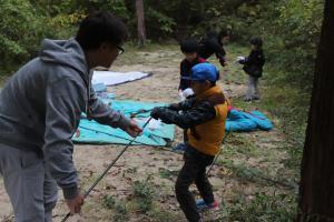 親子キャンプ13
