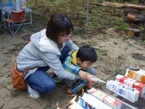 親子キャンプ20