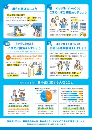 『熱中症予防×新型コロナ感染防止 2』の画像