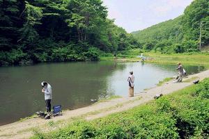『高萩ふれあいの里フィッシングエリアキャンプ場(釣り)』の画像