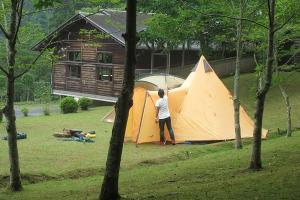 『花貫ふるさと自然公園(キャンプ)』の画像