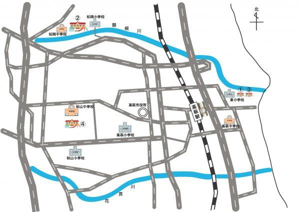 『幼稚園地図』の画像